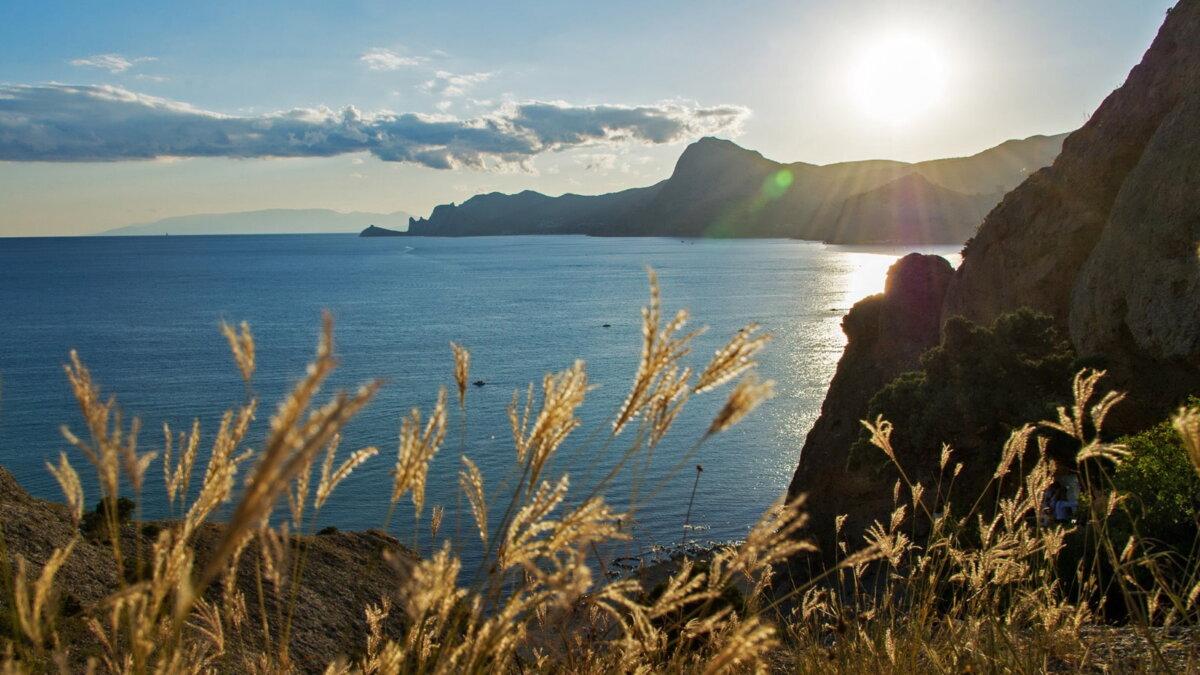 Крым туризм море