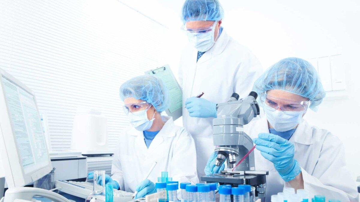 Лаборатория ученые пробирки laboratory