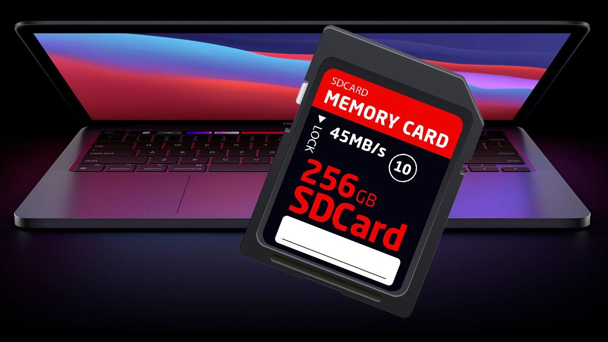 MacBook Pro SD card макбук про и карта памяти