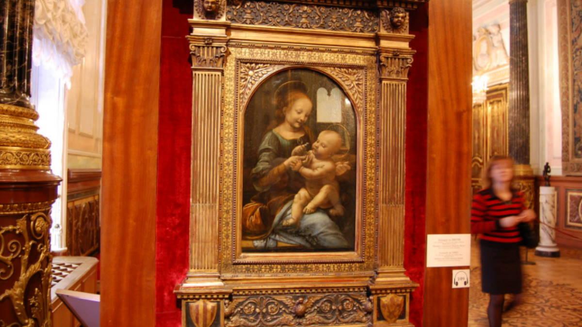 Картина Мадонна Бенуа - Леонардо да Винчи