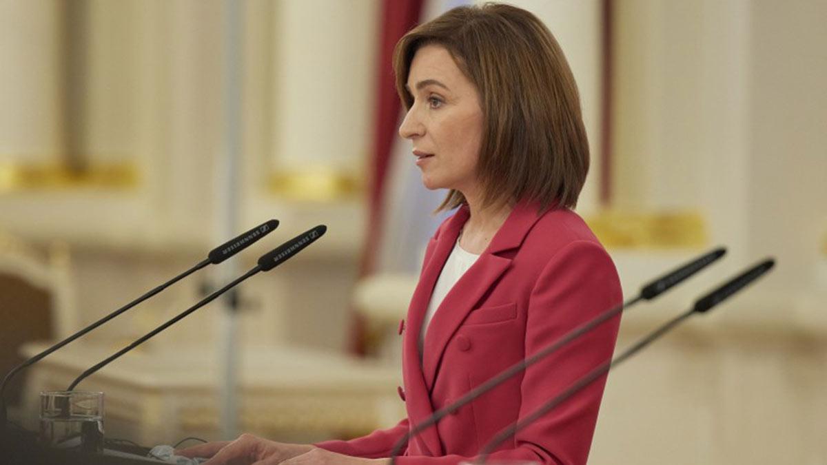 Майя Санду Президент Республики Молдова в профиль