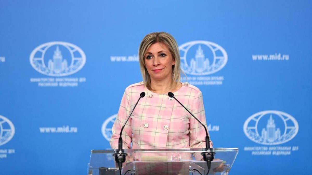 Официальный представитель МИД России Мария Захарова двенадцать