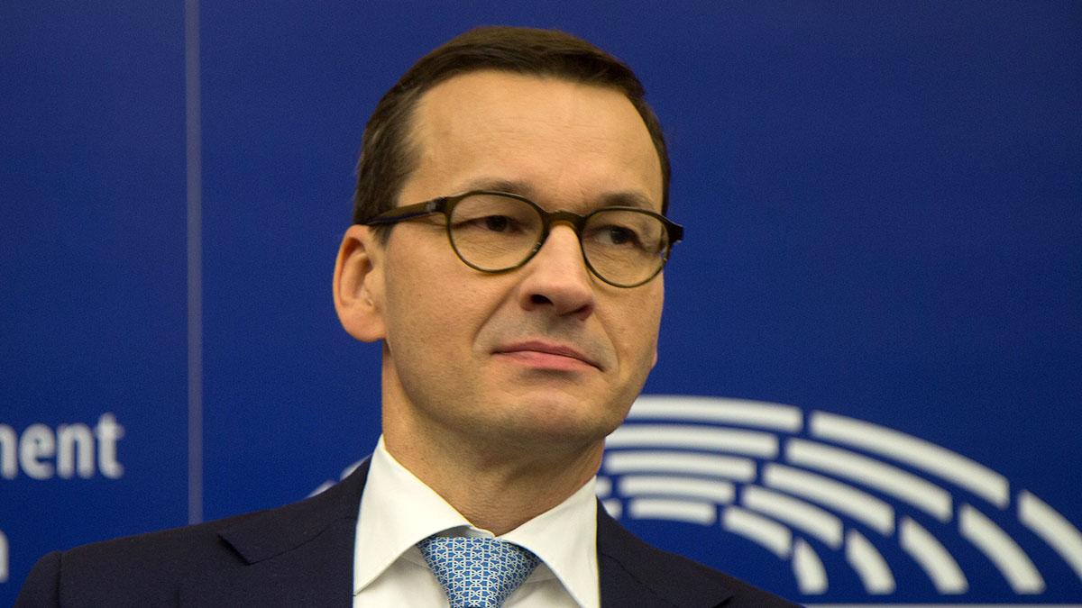 Матеуш Моравецкий Польский государственный деятель премьер-министр Польши