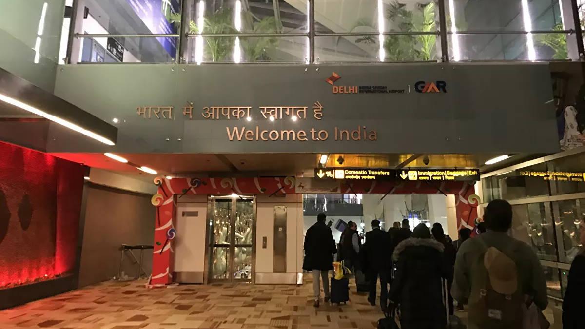 Международный аэропорт имени Индиры Ганди в Дели Индия