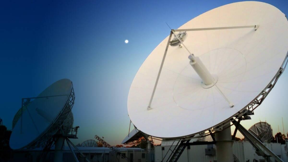 Наземная станция британской сети спутниковой связи Skynet