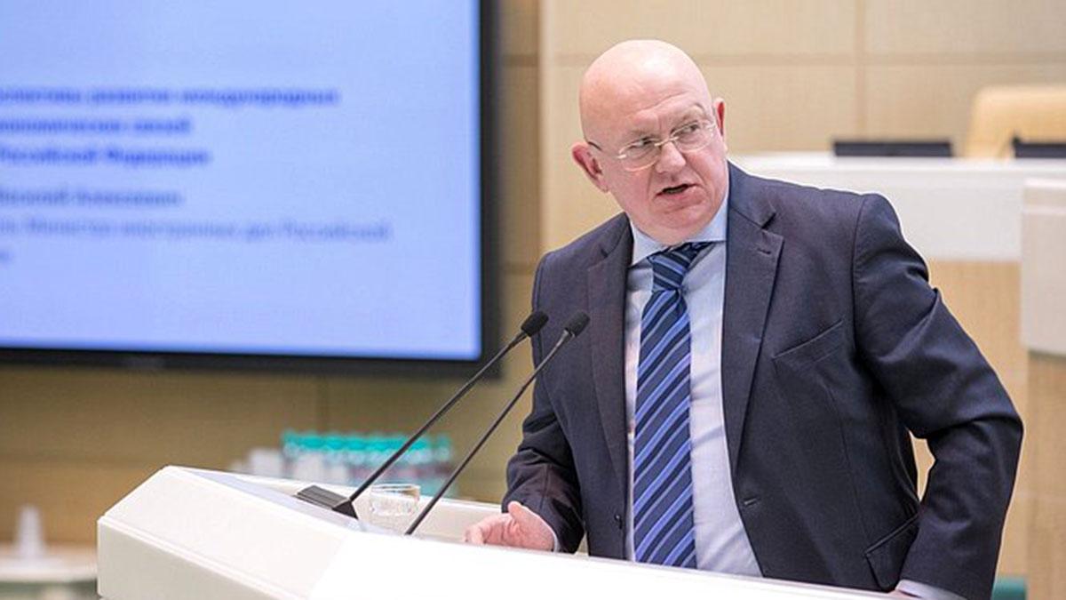 Василий Небензя представитель Российской Федерации при Организации Объединённых Наций и в Совете безопасности
