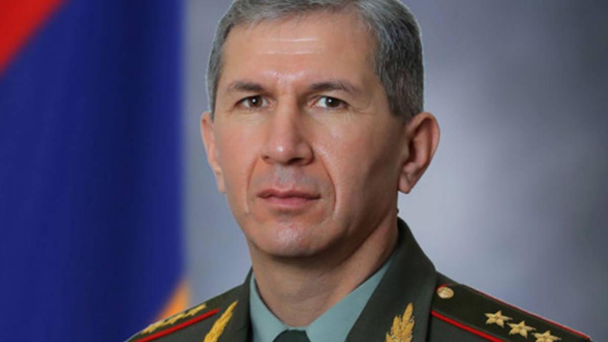 Начальник Генштаба Армении Оник Гаспарян