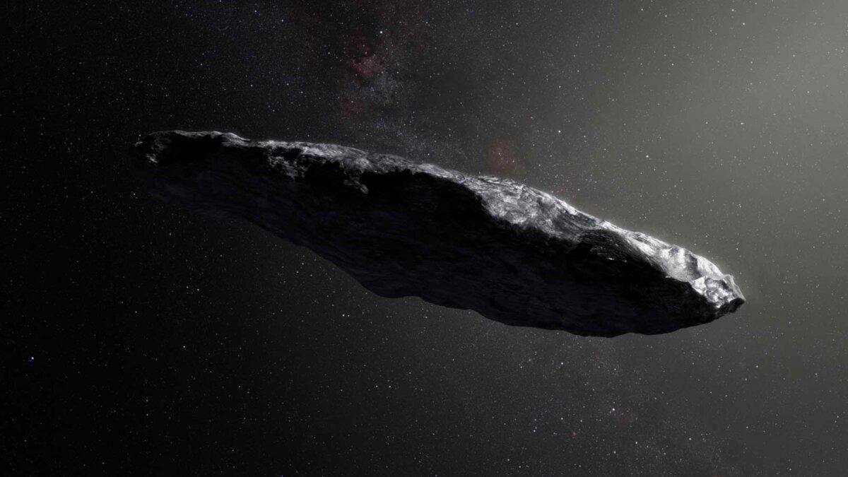Первый известный межзвёздный астероид Оумуамуа