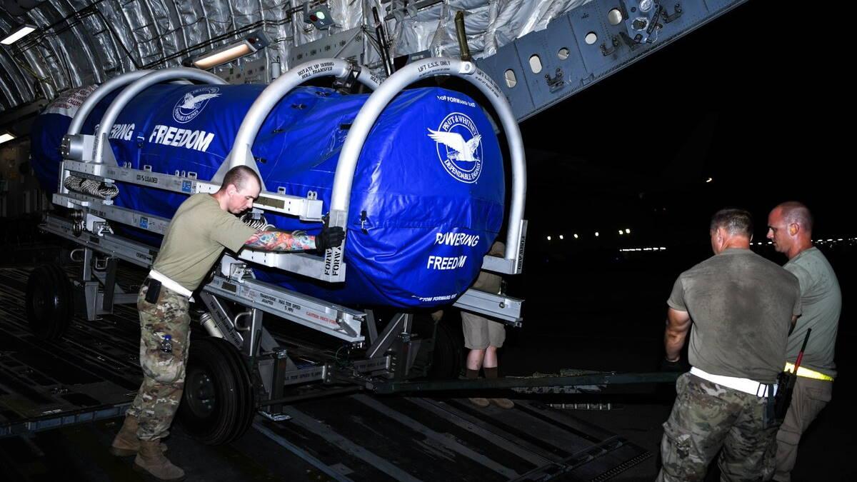 Двигатель Pratt & Whitney F135 для истребителя F-35