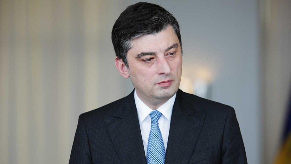 Премьер Грузии Георгий Гахария