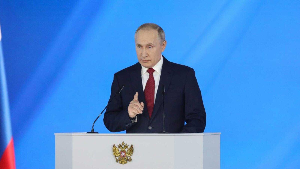 Президент России Путин Владимир