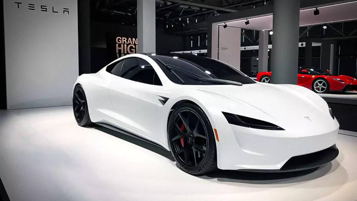 Прототип Tesla Roadster