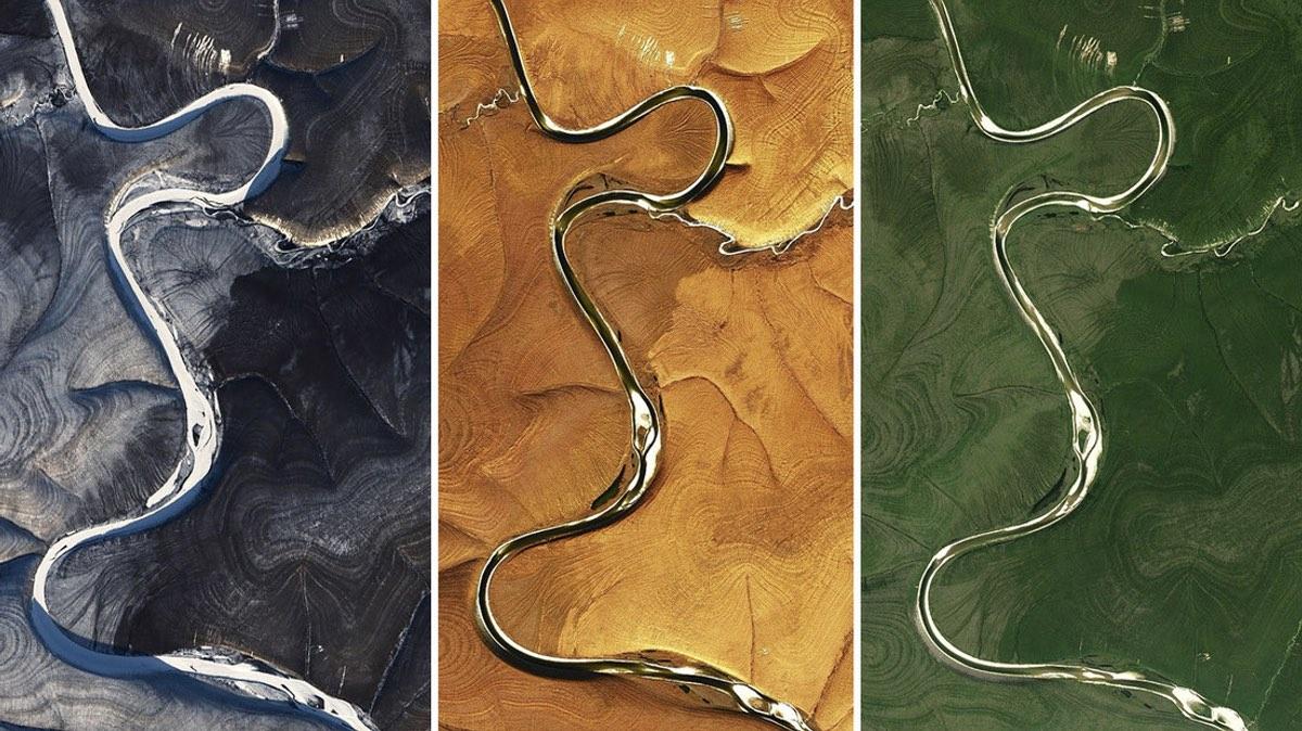 Река Марья в Сибири
