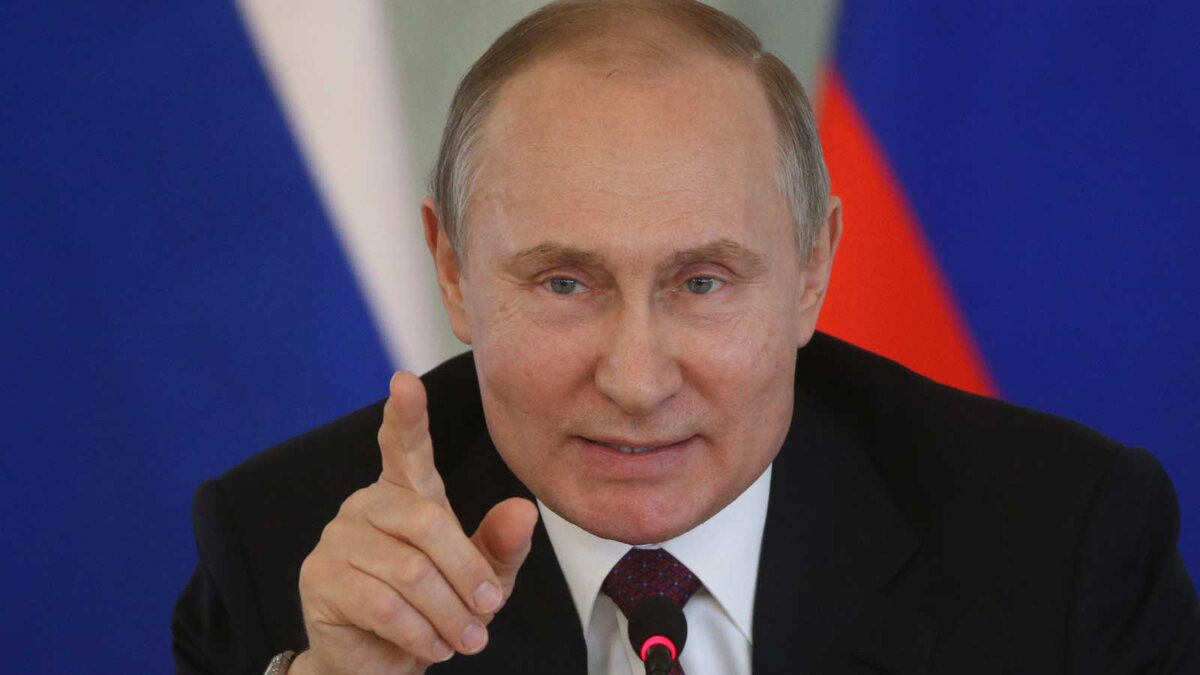 Russian President Vladimir Putin Президент РФ Владимир Путин