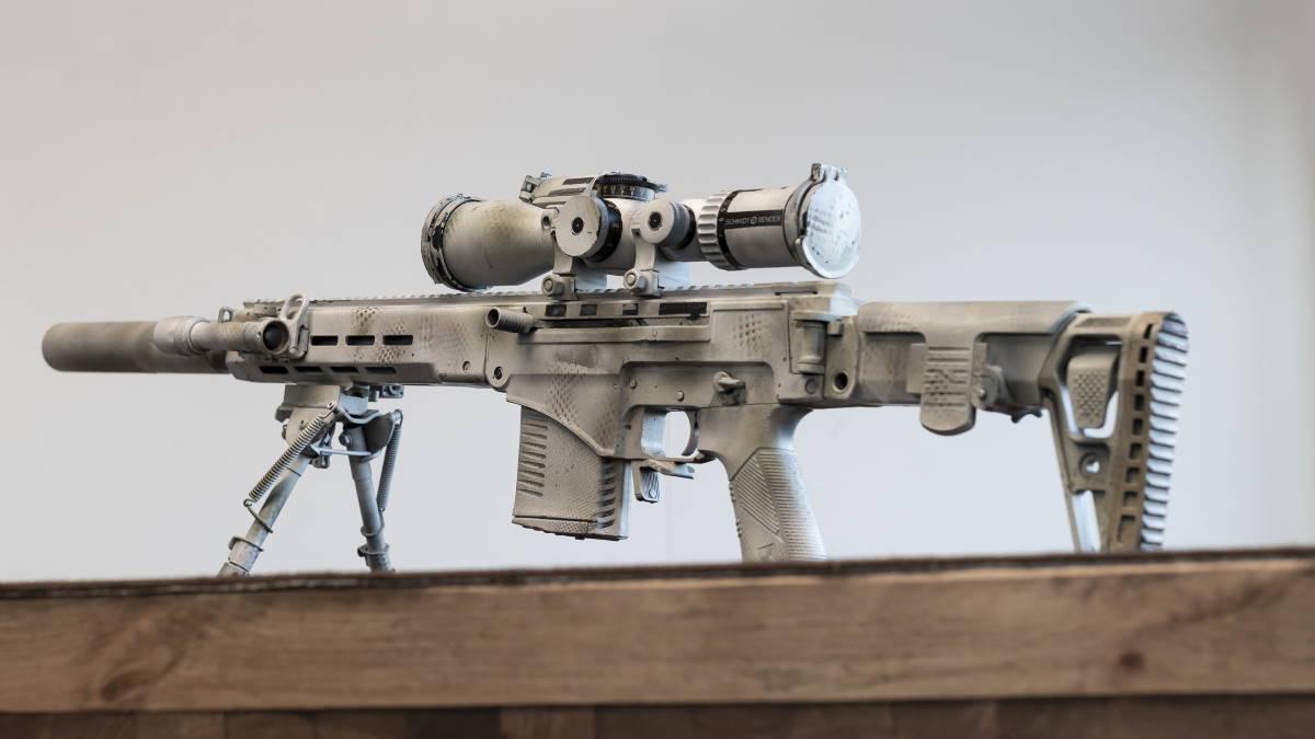СВЧ Снайперская винтовка Чукавина Жнец