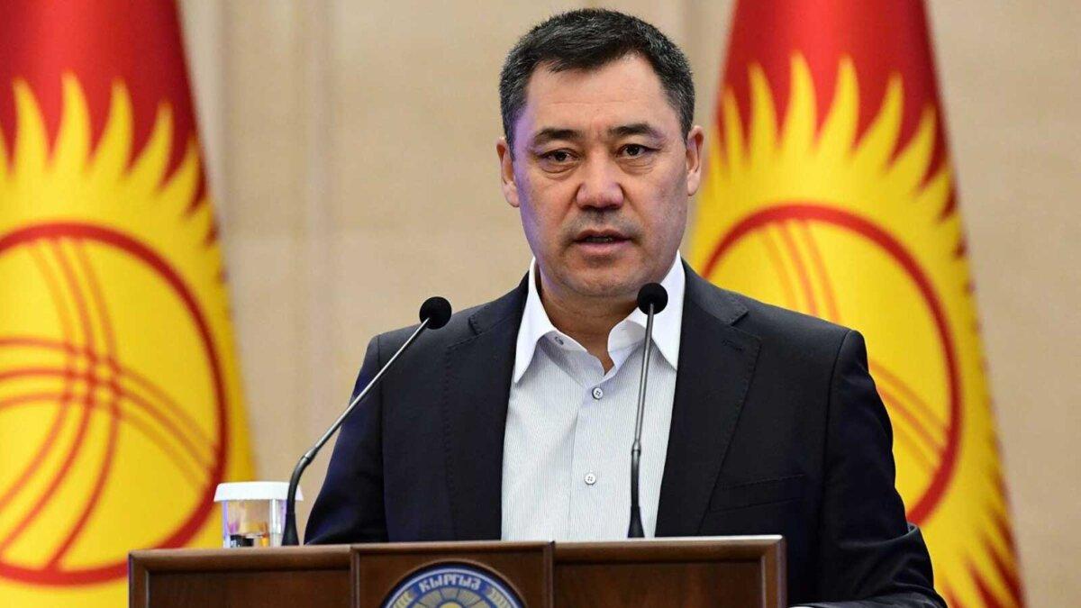 Садыр Жапаров президент Киргизской Республики