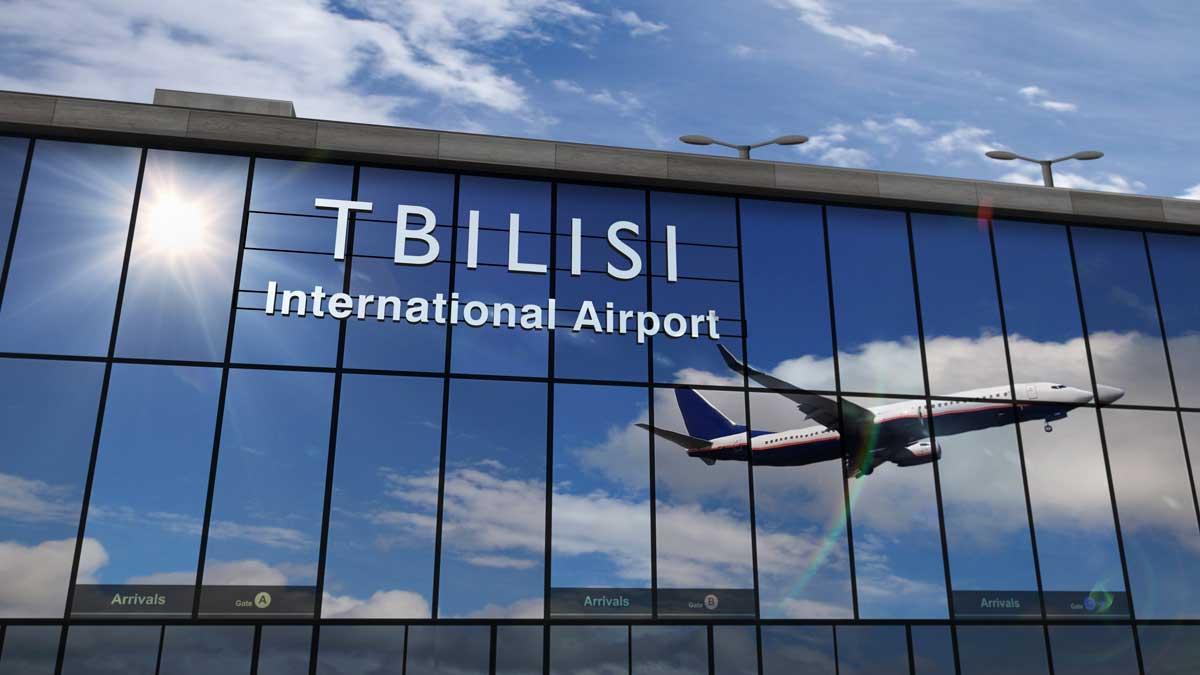 Самолет Грузия Тбилиси plane georgia