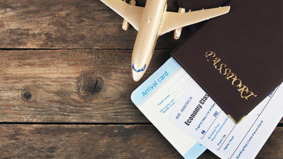 Самолет билеты паспорт