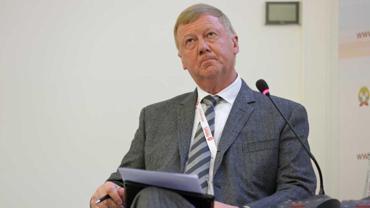 Спецпредставитель президента России по целям устойчивого развития Анатолий Чубайс