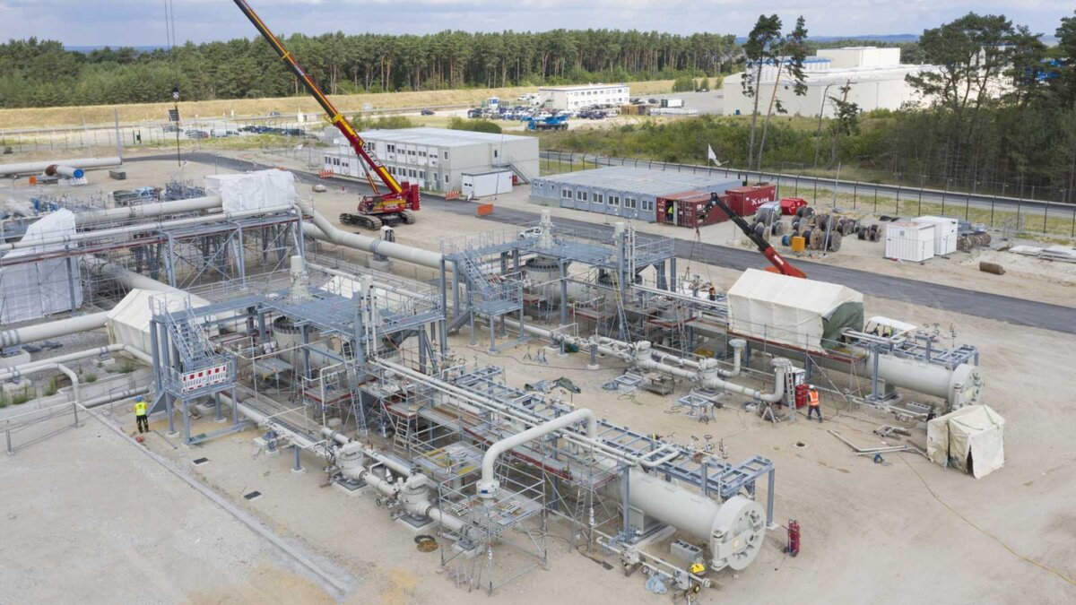 Строительство Норд Стрим 2 Nord Stream 2