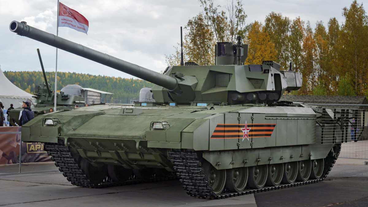 T-14 Armata tank Новейший танк Т-14 Армата