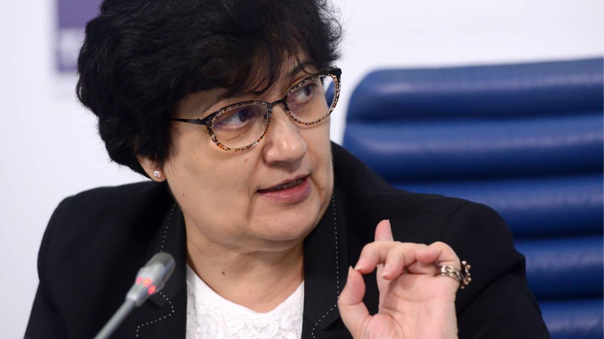 Представитель ВОЗ в РФ Мелита Вуйнович - Melita Vujnovic