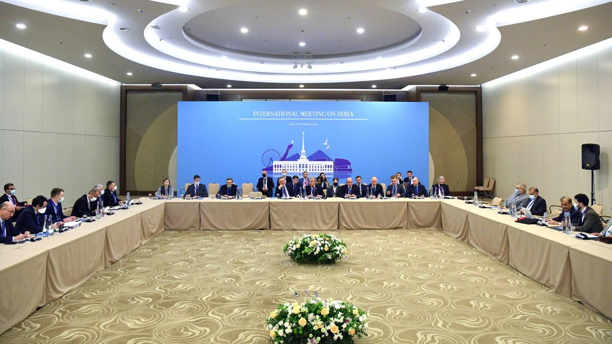 Международная встреча по Сирии в астанинском формате в Сочи