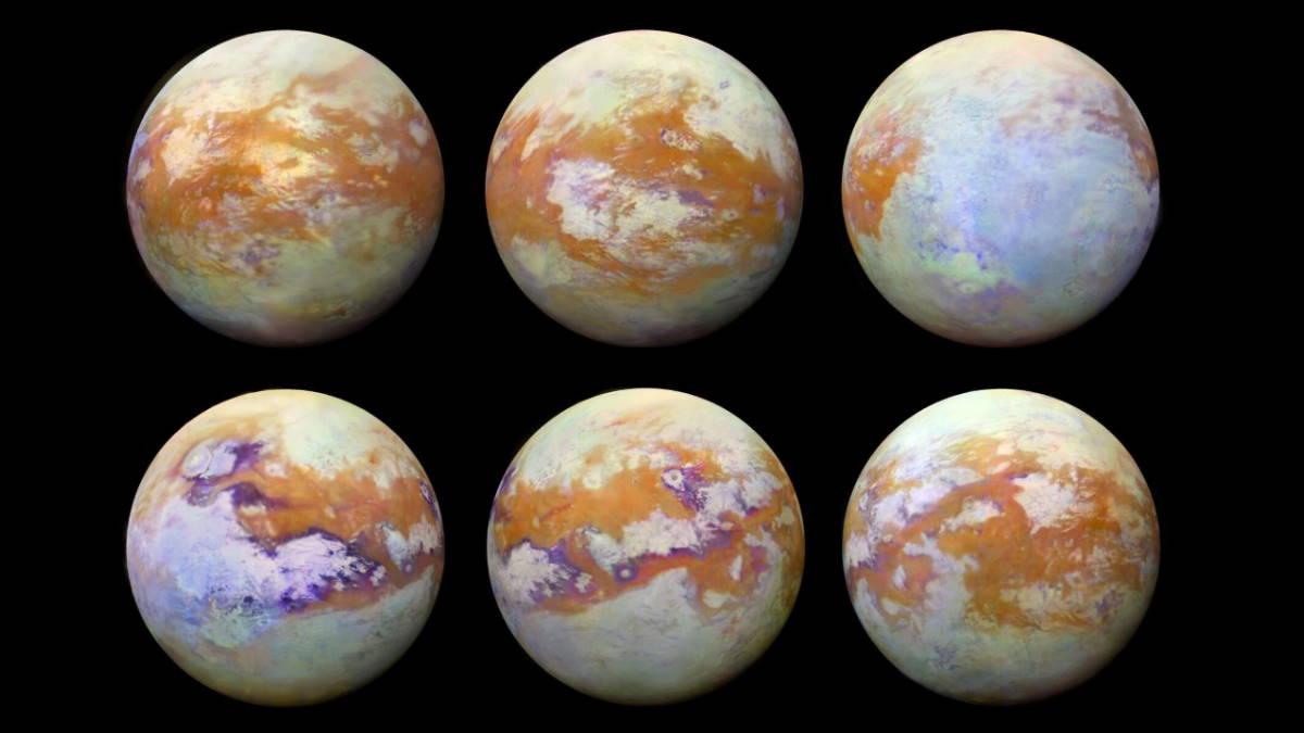 Титан спутника Сатурна