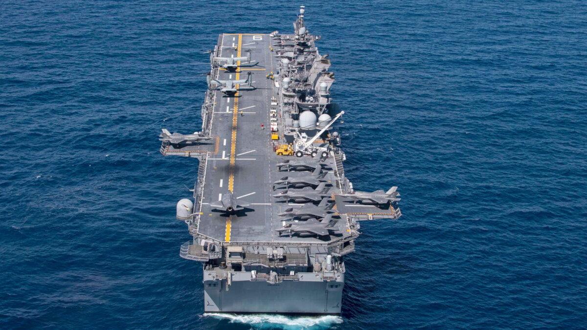 Универсальный десантный корабль USS America LHA 6