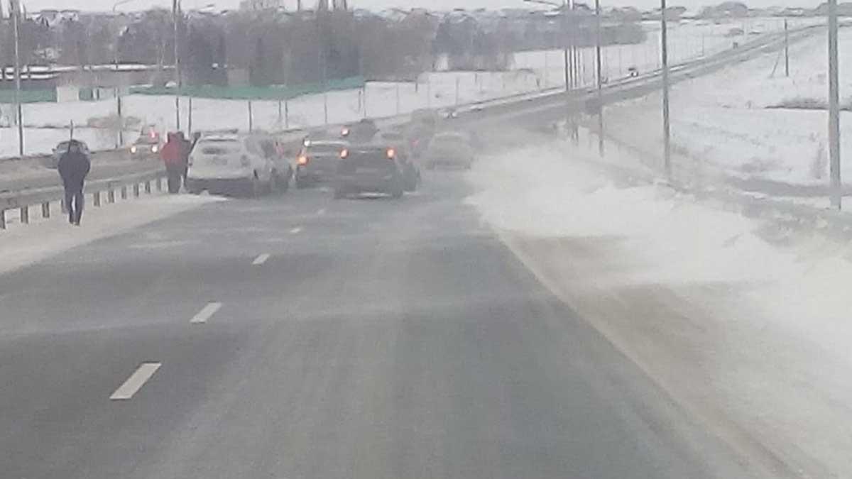 Уфа – Оренбург авария автомобили