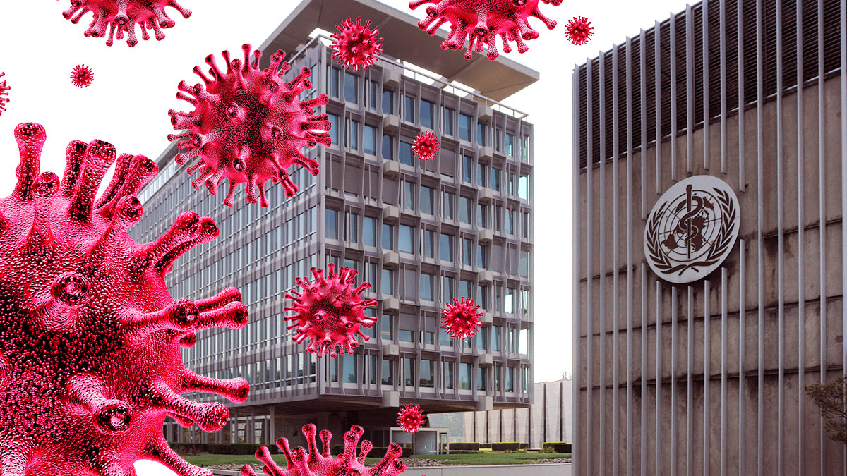 ВОЗ Всемирная организация здравоохранения здание коронавирус covid-19