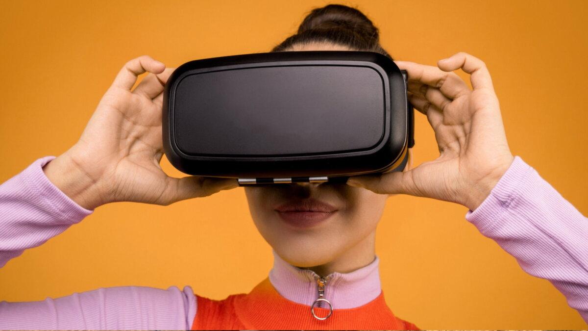 VR шлем виртуальная реальность