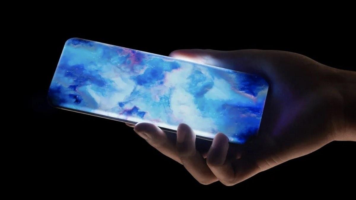Xiaomi экран-водопад