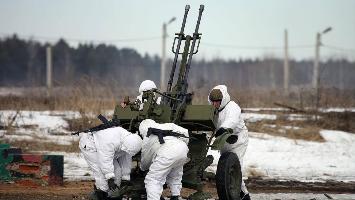 Зенитная установка ЗУ-23-2 ПВО
