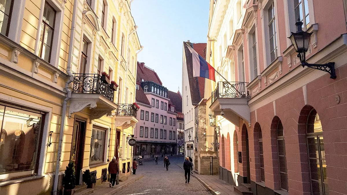 Здание посольства РФ в Эстонии