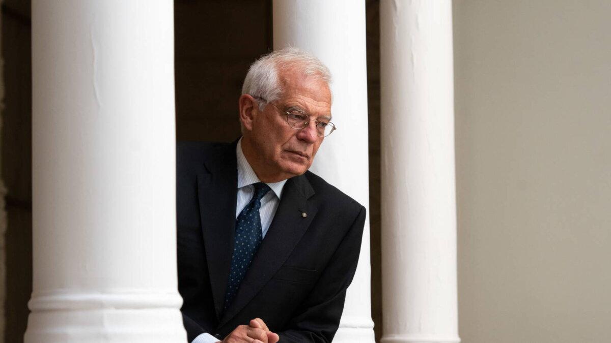 Глава евродипломатии Жозеп Боррель - Josep Borrell три