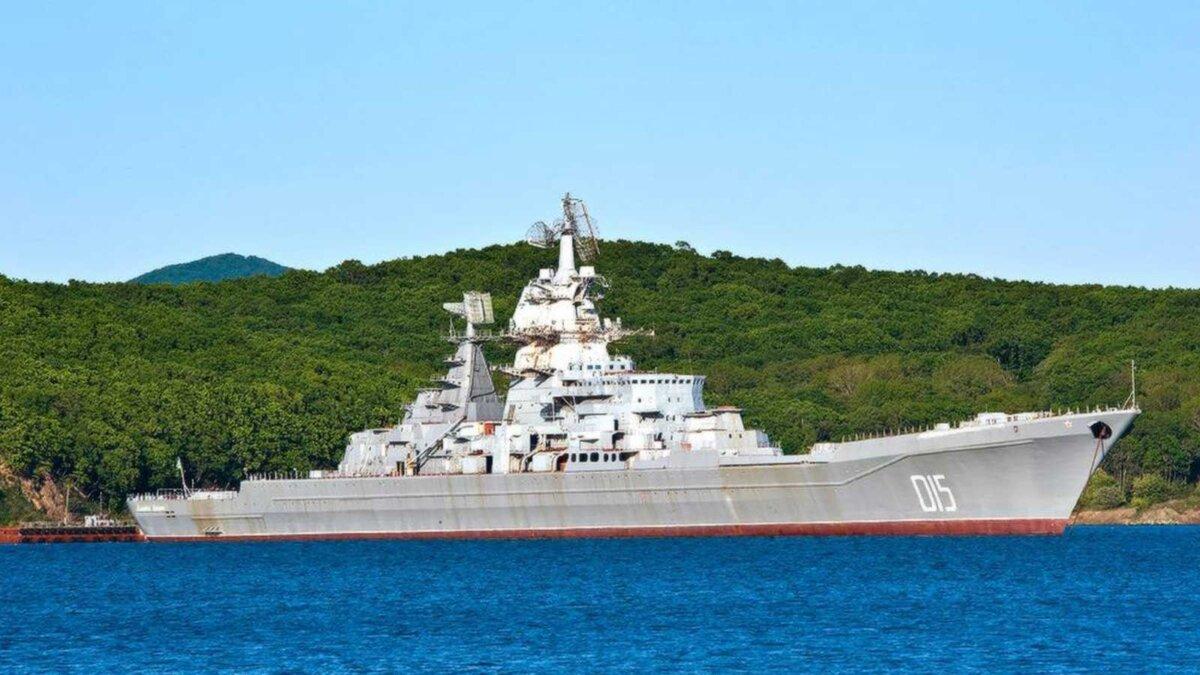атомный ракетный крейсер Адмирал Лазарев