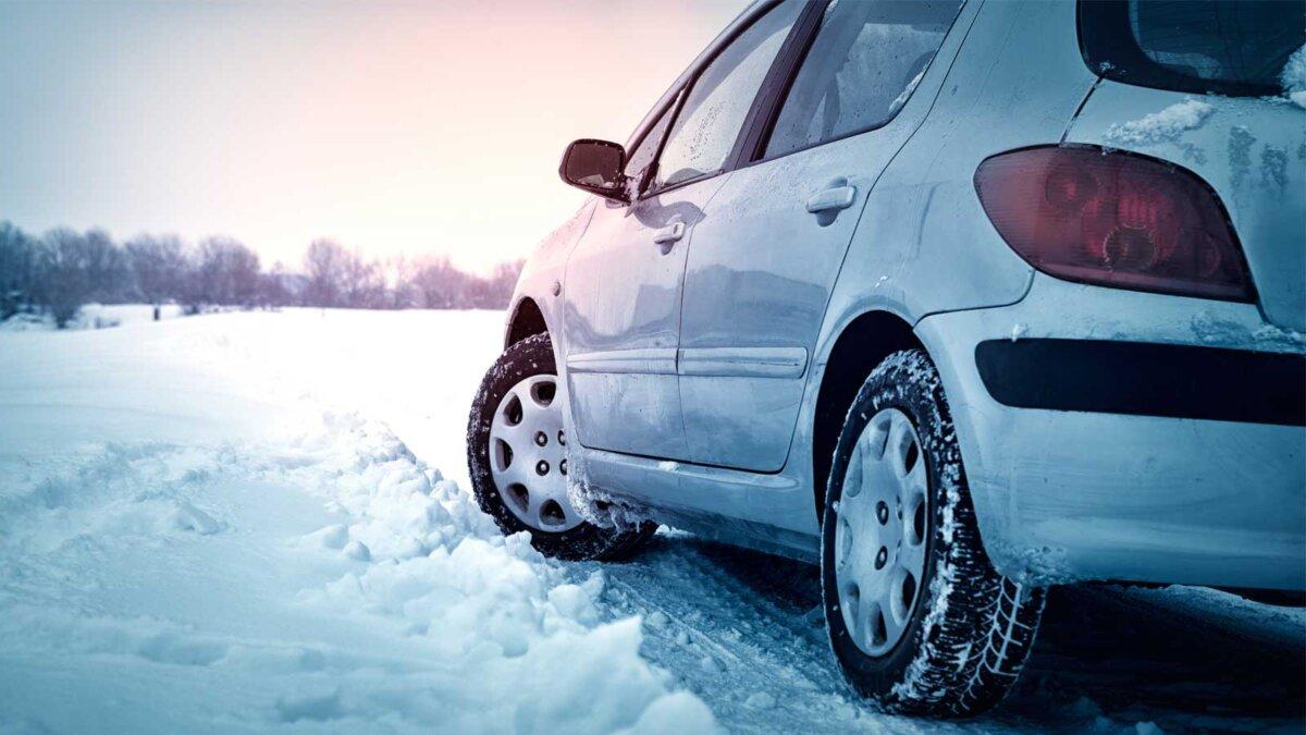 автомобиль зима колеса снег