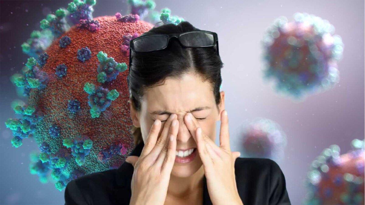 болят глаза слепота коронавирус