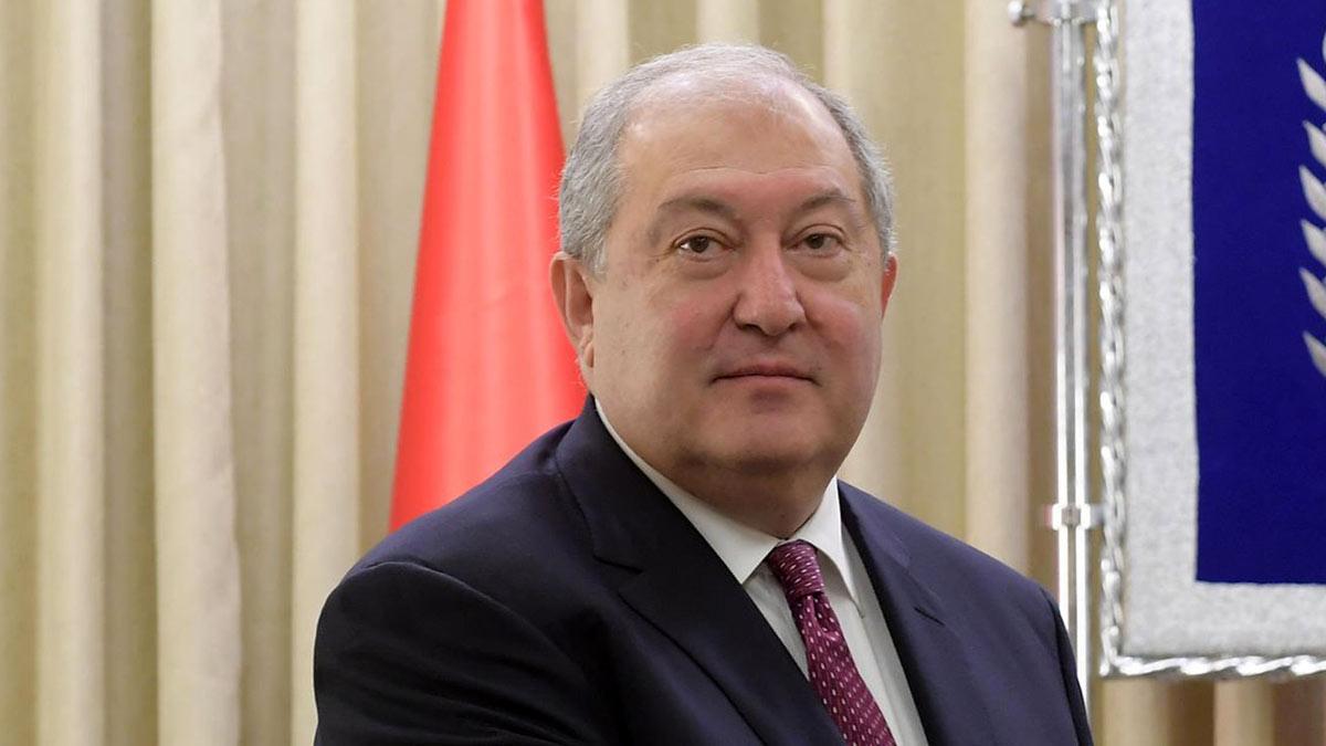 Армен Варданович Саркисян Президент Республики Армения