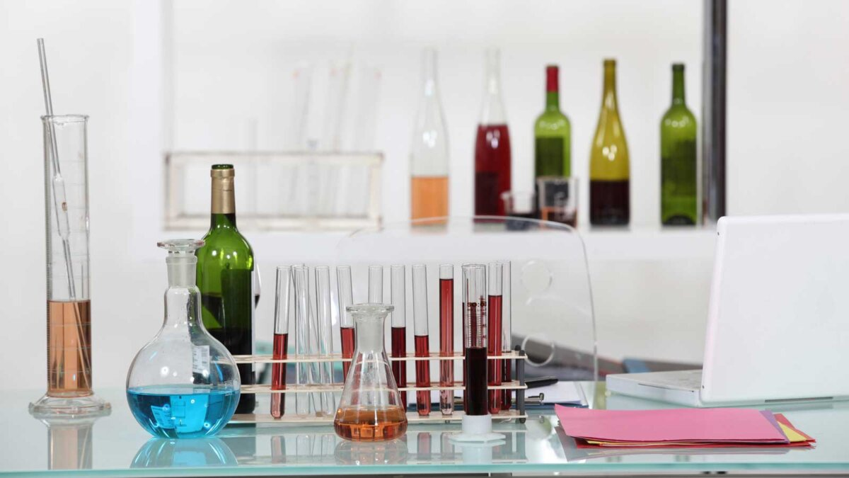 chemical composition of wine химический состав вина