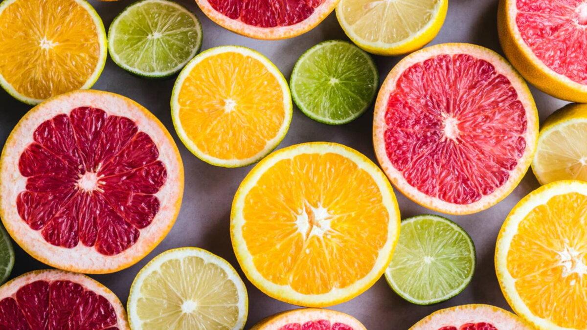 Цитрусовые цитрусы фрукты один