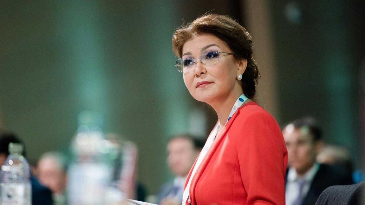 депутат мажилиса нижней палаты парламента Дарига Назарбаева