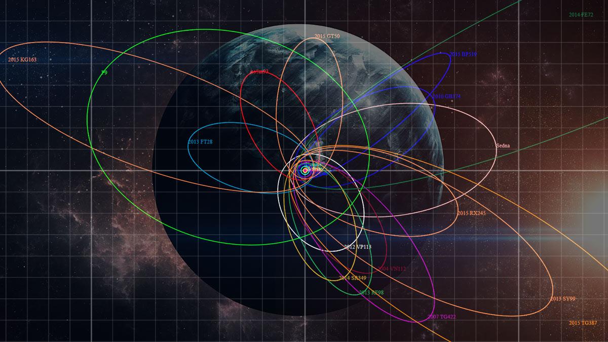 девятая планета исследование космос солнечная система