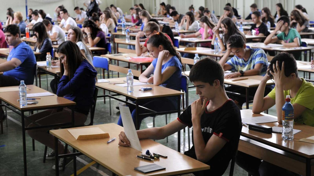 экзамен школа парты ученики вуз