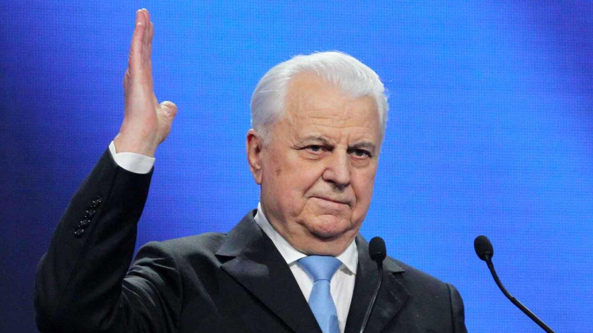 глава украинской делегации в трехсторонней контактной группе (ТКГ) Леонид Кравчук