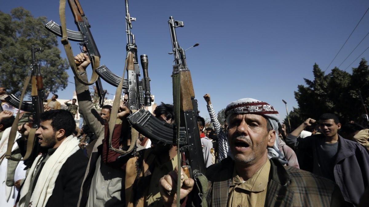 """Акция протеста в Йемене после решения США внести движение """"Ансар Аллах"""" (хуситов) в список террористических организаций"""