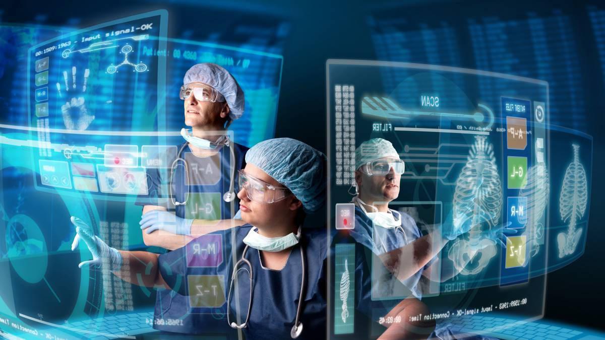 компьютеры в больнице
