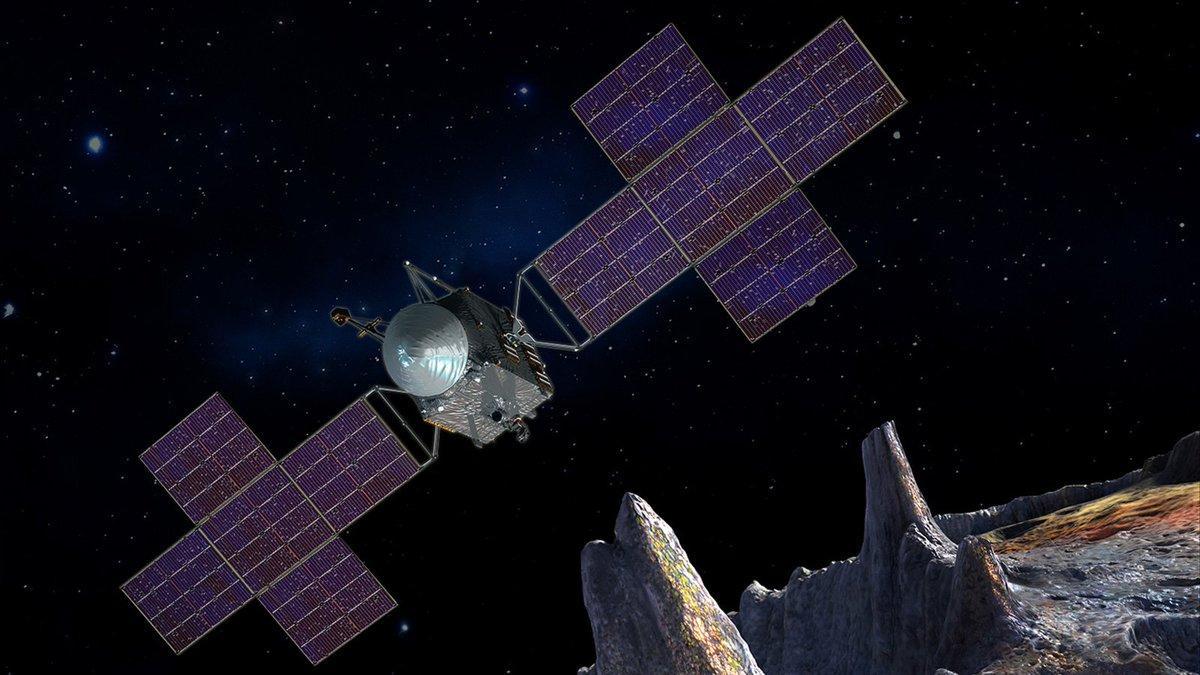 Межпланетная станция NASA Psyche
