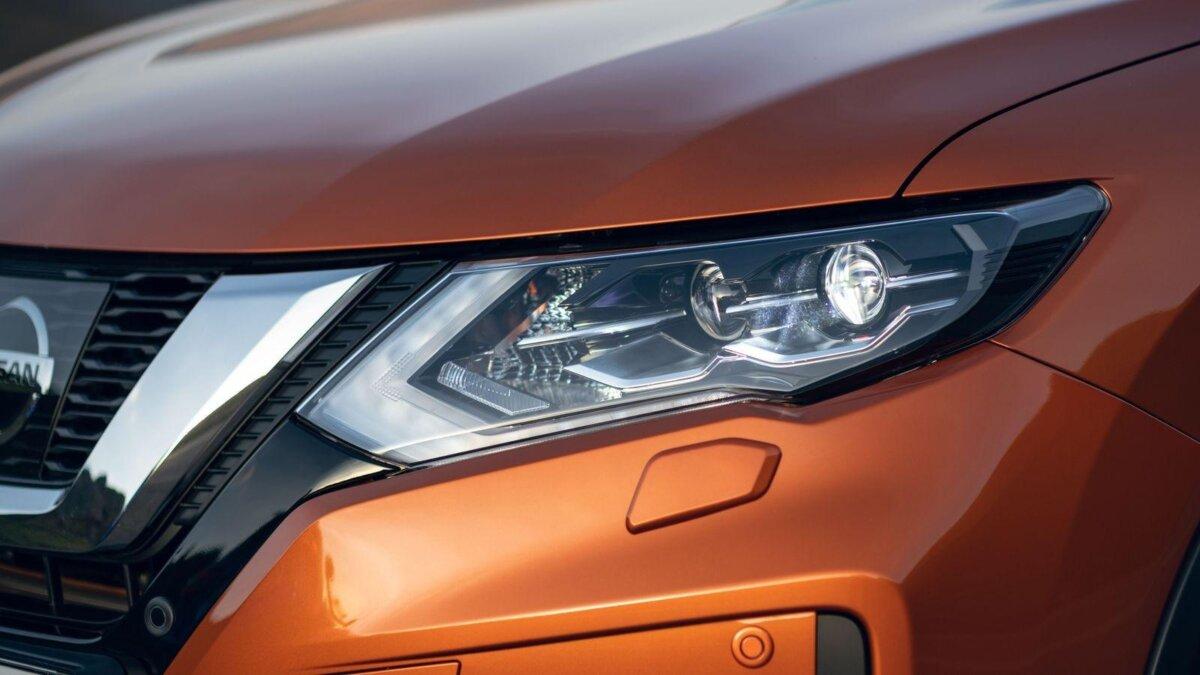 оптика нового Nissan Qashqai